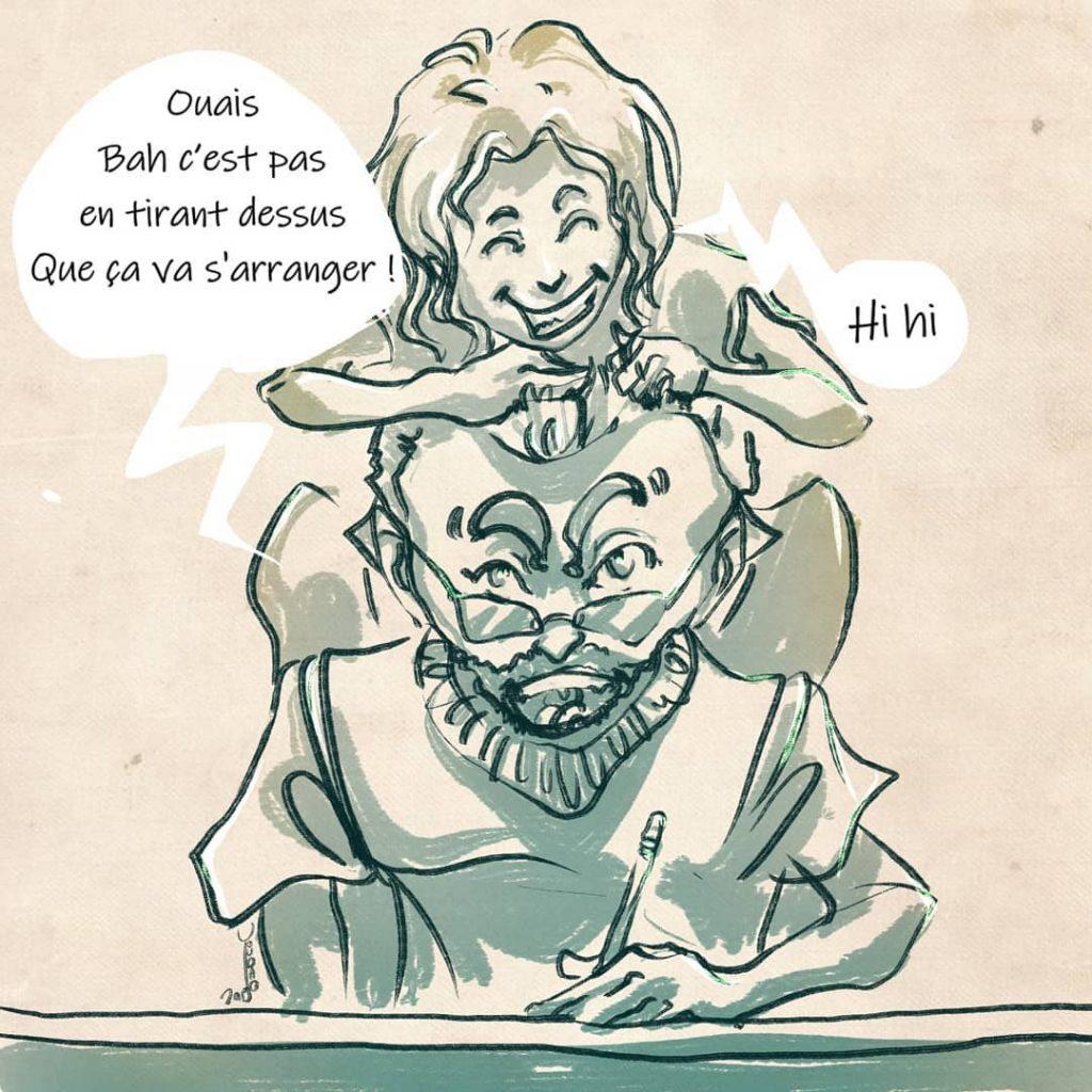 Interview de Toubab sur le blog Les Marottes