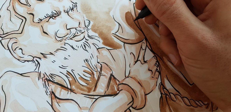 Belle Couette - dessin tome 3