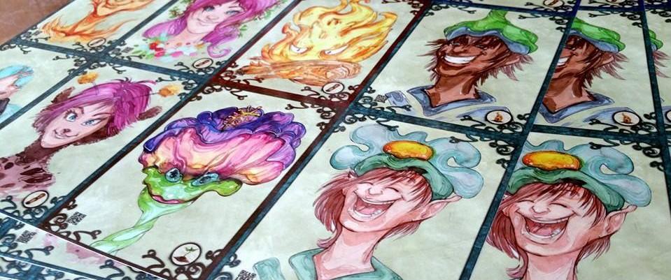 Calix - planche de cartes