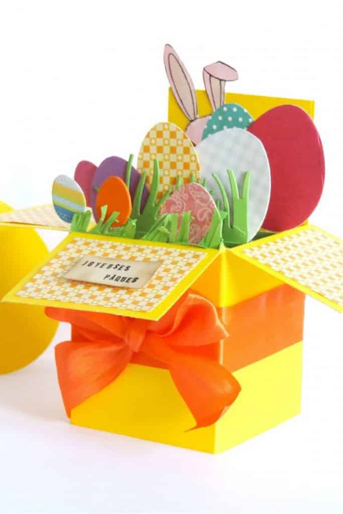 Carte de Pâques pop up 10€ - MYRTILLE CRÉATIONS