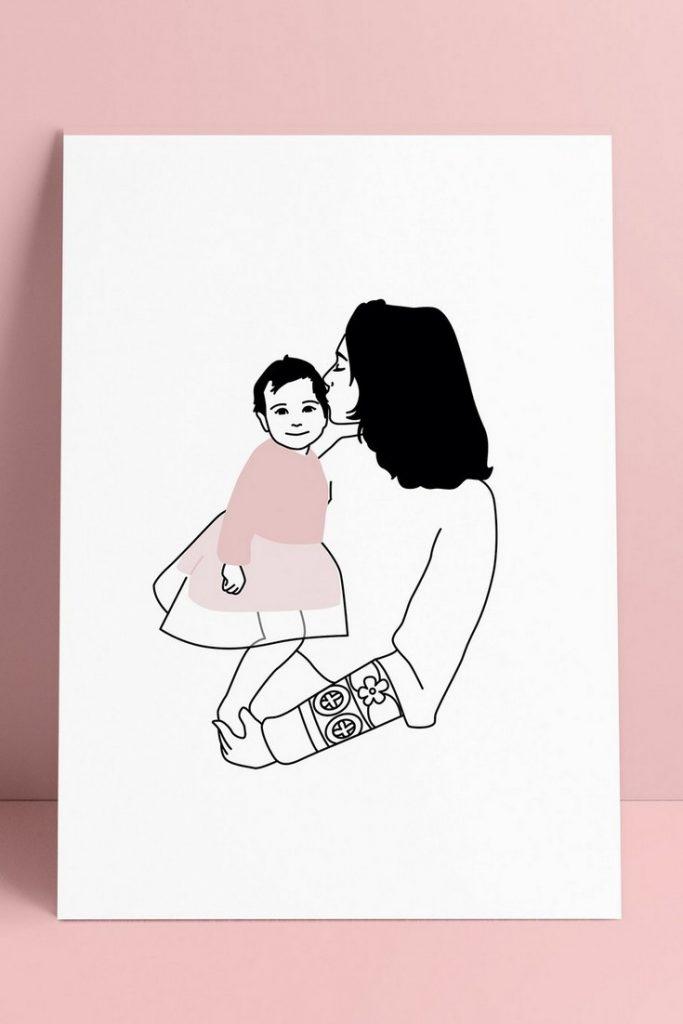 POINT A LA LIGNE portrait de famille 37€