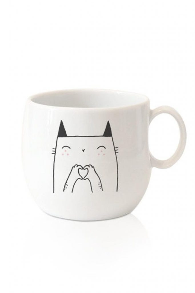 SOBI GRAPHIE tasse love cat 13€20